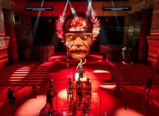 Сцена из оперы «Октавия. Трепанация». Фото - Андрей Безукладников