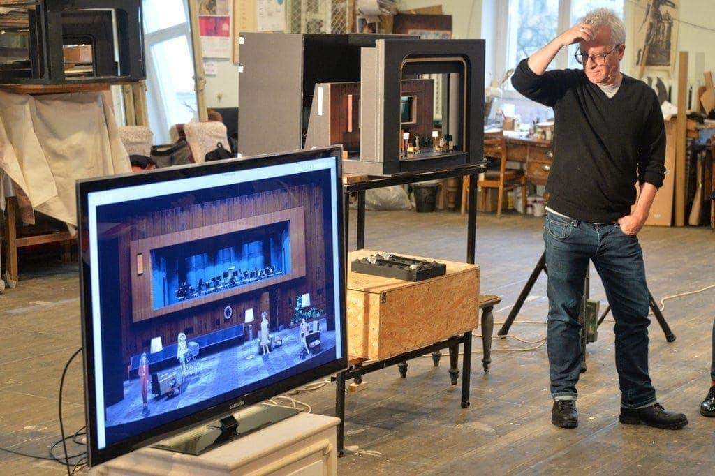 Оперу венгерского композитора Этвёша поставил американский режиссёр Кристофер Олден. Фото - Павел Ворожцов
