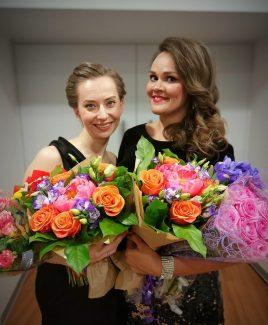 Мария Оселкова и Полина Шамаева