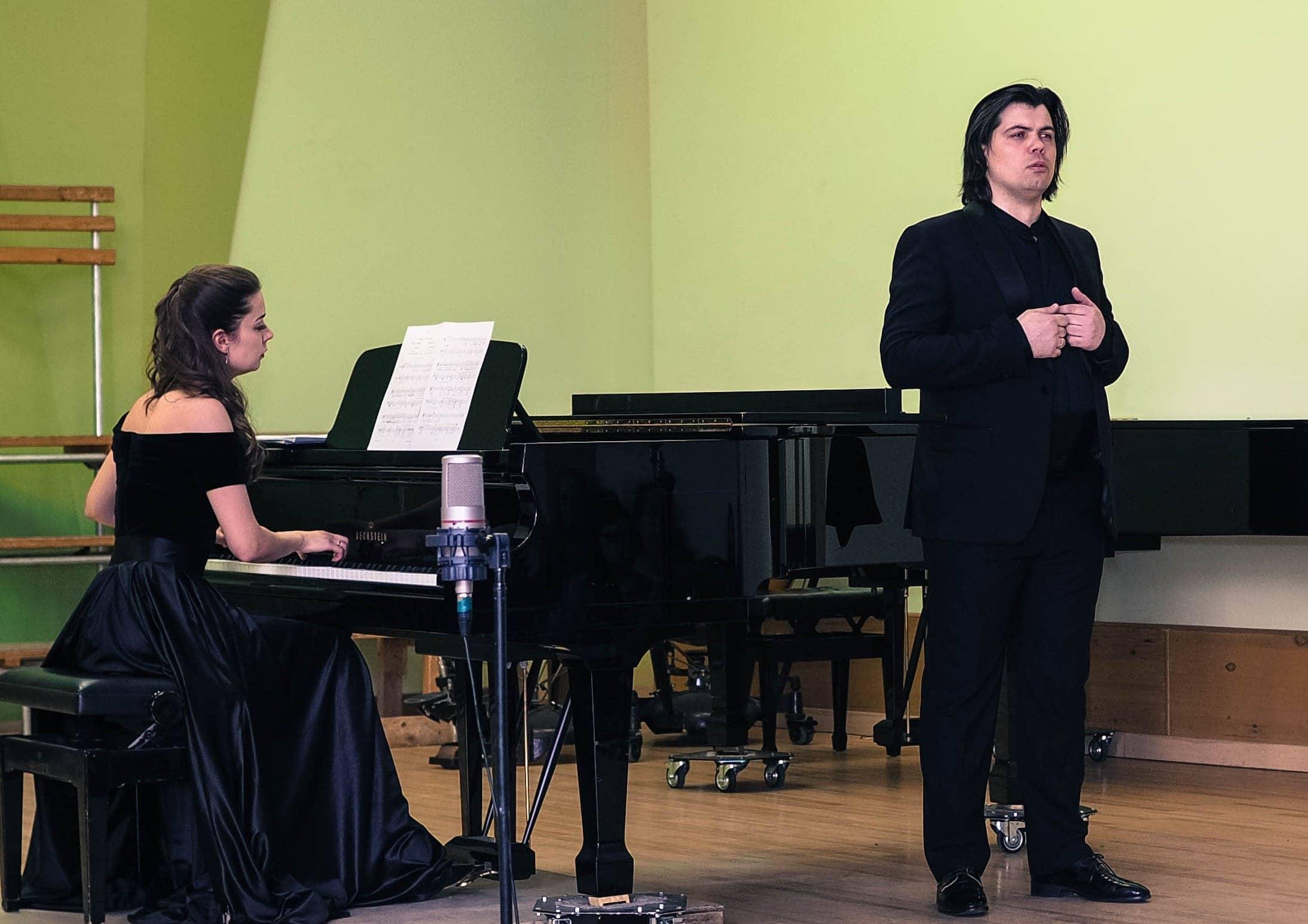 Ярослав Петряник (баритон), Елена Федоренко (фортепиано)