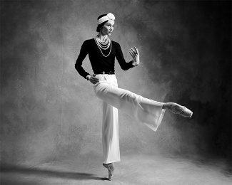 Светлана Захарова сыграет Габриэль Шанель. Фото с официального сайте Большого театра