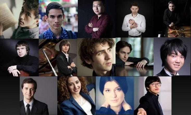 Пианисты - участники второго тура Конкурса имени Чайковского 2019