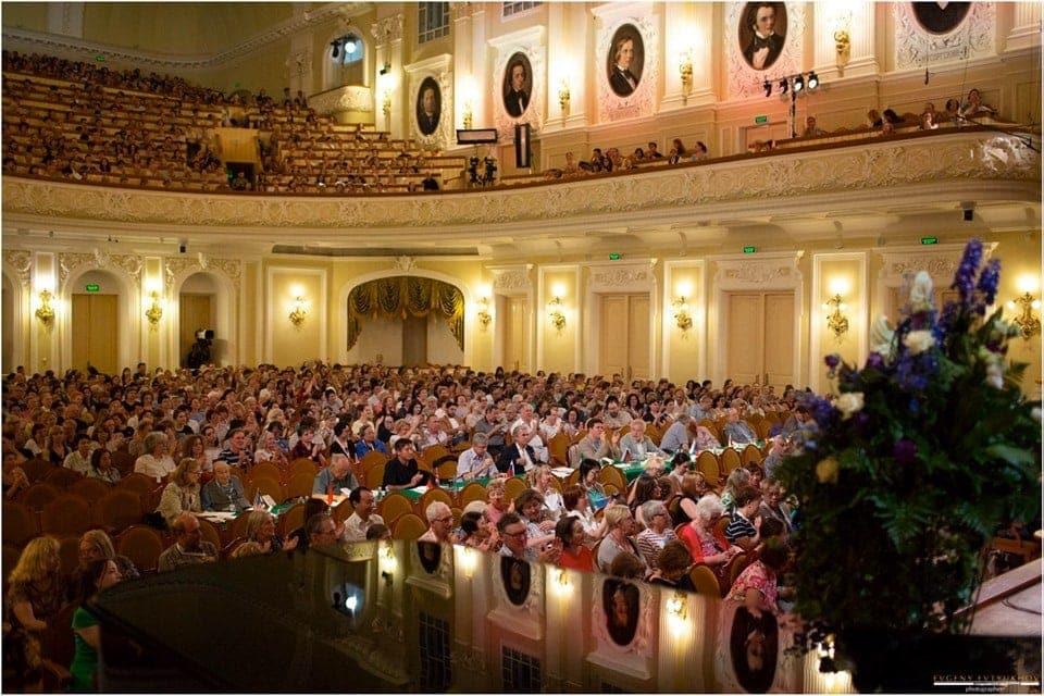 XVI Международный конкурс имени Чайковского. Большой зал Московской консерватории. Фото - Евгений Евтюхов
