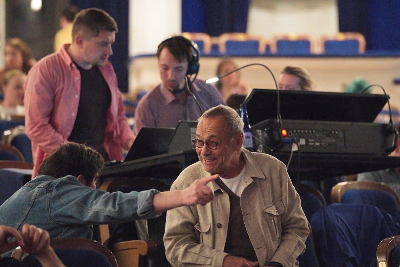 Андрей Кончаловский на репетиции в МАМТ. Фото - Сергей Родионов
