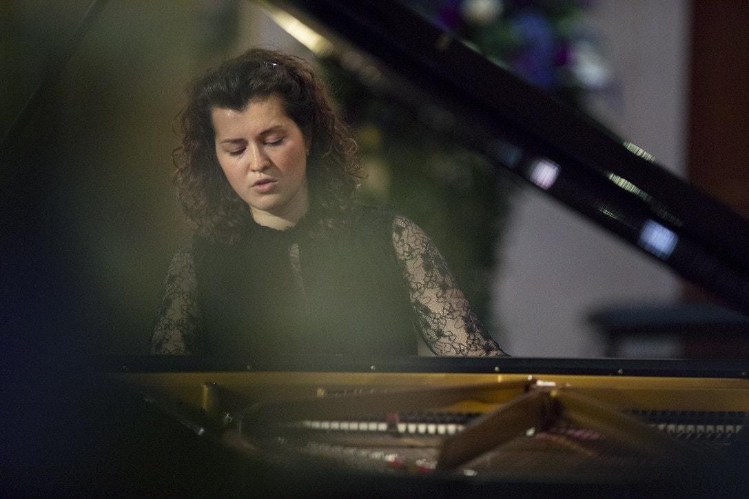 Анна Генюшене. Фото - пресс-служба Конкурса имени Чайковского