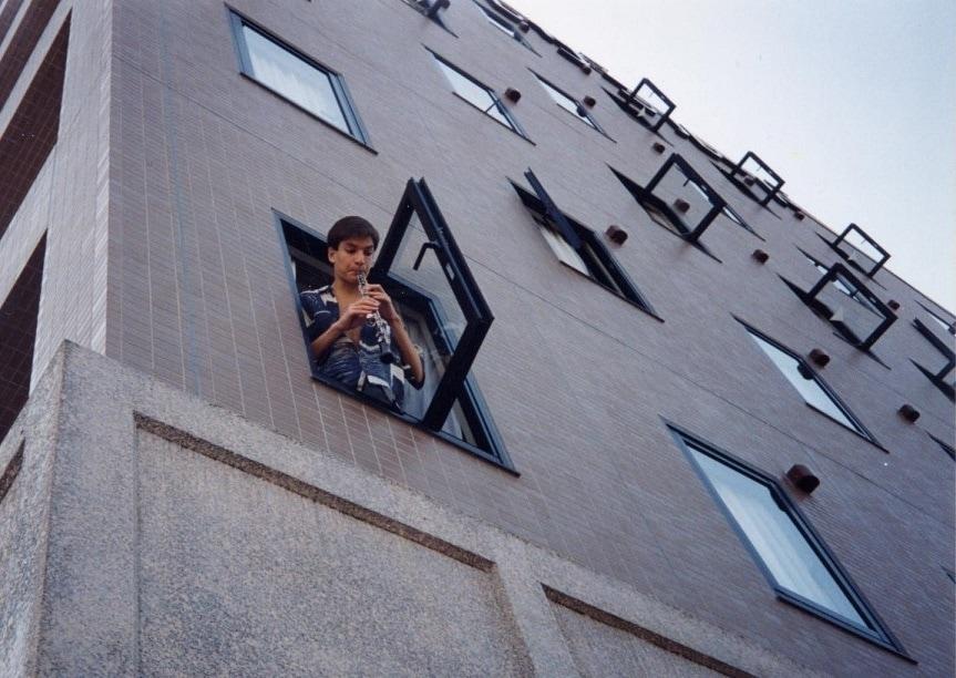 Дмитрий Булгаков. Занятия из окна отеля в Японии