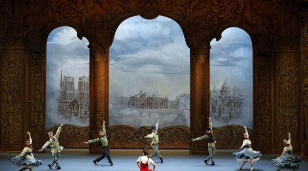 """Сцена из балета """"Парижское веселье"""". Большой театр. Фото - Дамир Юсупов"""
