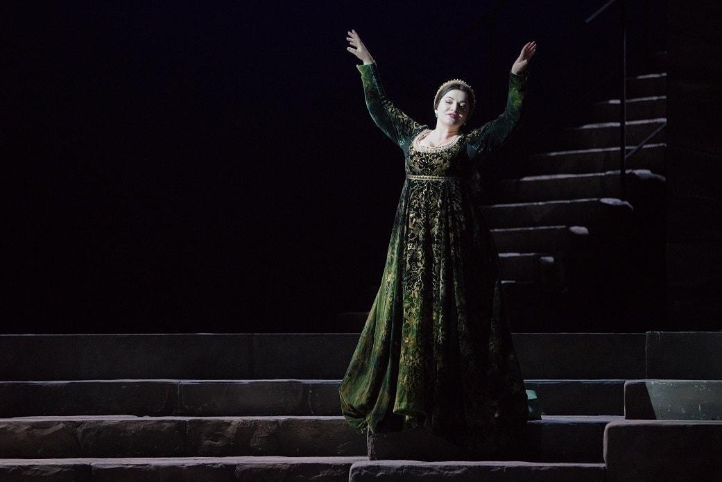 "Хибла Герзмава. Опера Верди ""Отелло"" в МАМТ. Фото - Сергей Родионов"