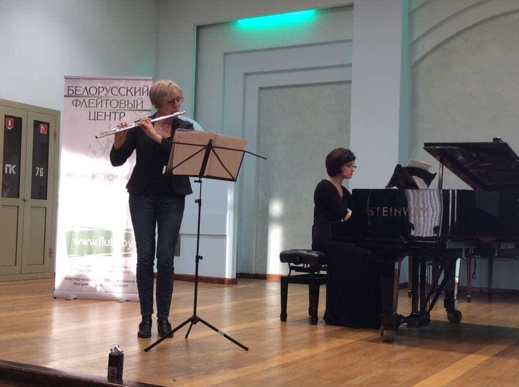 Концерт «Сквозь пространство и время» - Ольга Ивушейкова (флейта), Анна Гришина (фортепиано)