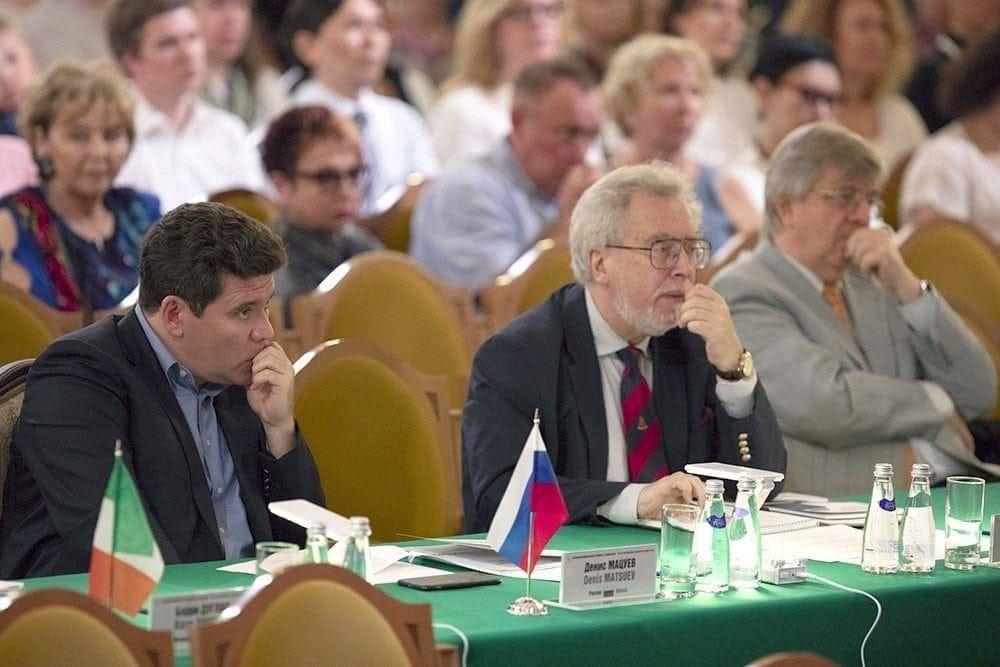 В жюри XVI Международного конкурса имени Чайковского. Фото - Евгений Евтюхов