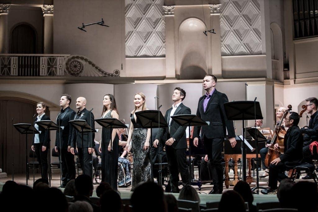 Концертное исполнение оперы Леонардо Винчи «Сигизмунд, король Польши» прошло на сцене Зала имени Чайковского. Фото - Ira Polyarnaya/Opera Apriori