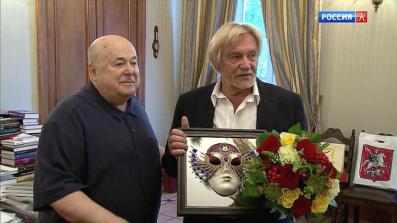 Александр Калягин и Владимир Васильев