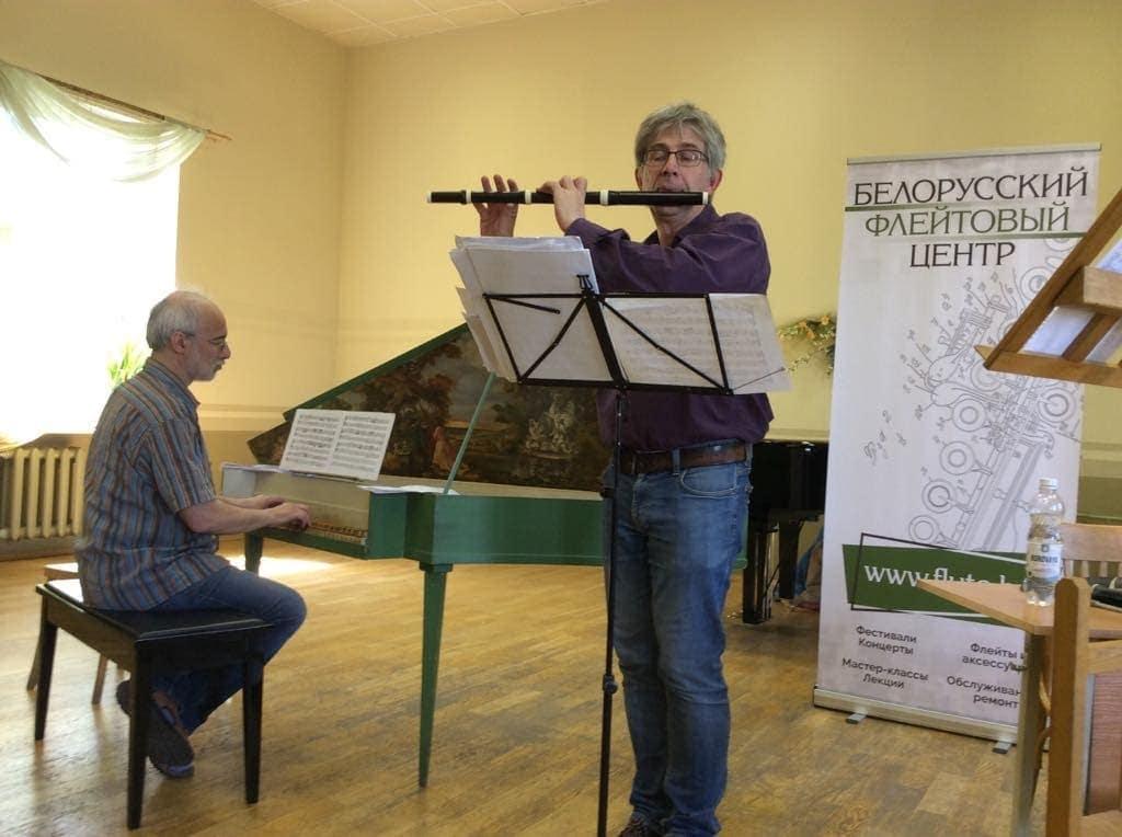 Бендек Чалог (флейта), Дмитрий Зубов (клавесин)