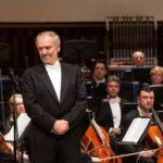 Валерий Гергиев на гала-концерте в Москве. Фото - пресс-служба Конкурса имени Чайковского