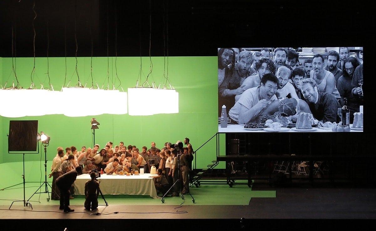 """""""Возвышение и падение города Махагони"""" в постановке Иво ван Хове. Фото - Pascal Victor / Artcompress"""