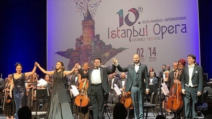 Солисты Большого театра выступили в Стамбуле. Фото - Денис Соловых