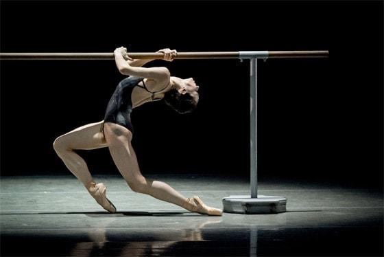 Диана Вишнева в балете «Switch». Фото - Jack Devant