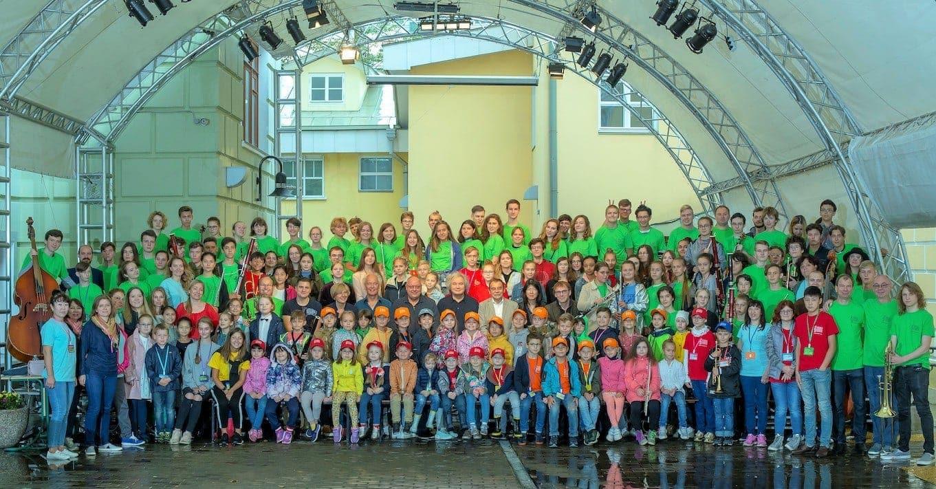 Участники «Летней школы в Гнесинке – 2019». Фото - cтудия «Камертон»