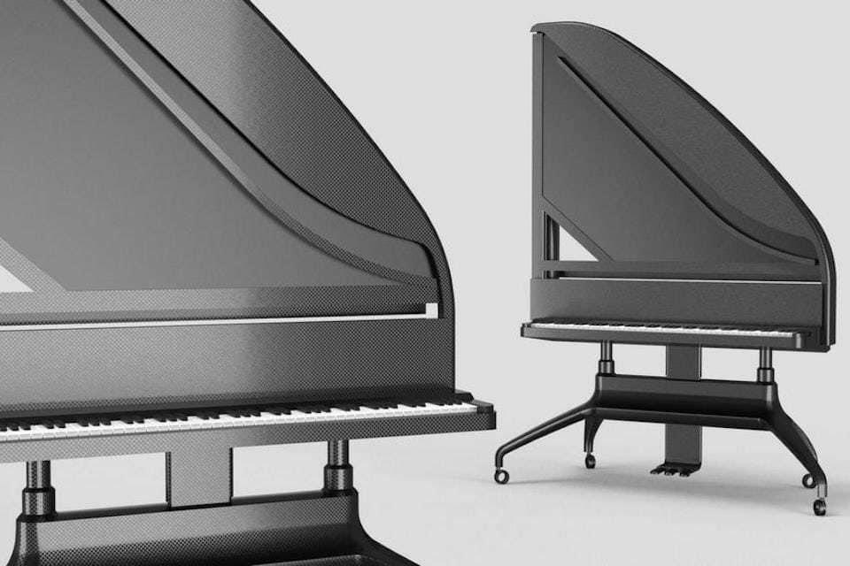 Пианистка Сара Николлс предложила проект вертикального рояля Standing Grand