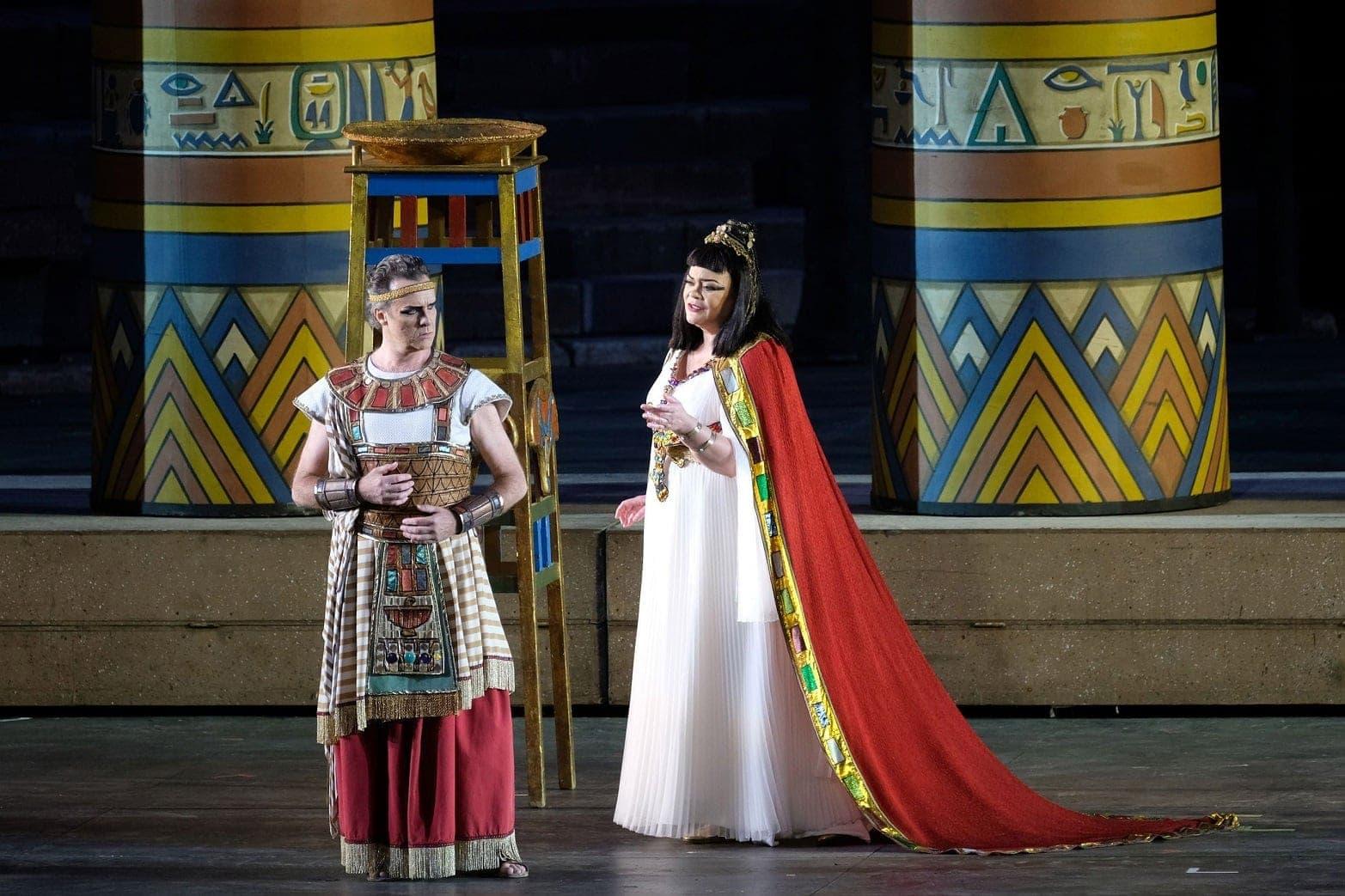 "Мартин Мюлле и Виолетта Урмана. ""Аида"" Верди, Арена ди Верона, 2019"