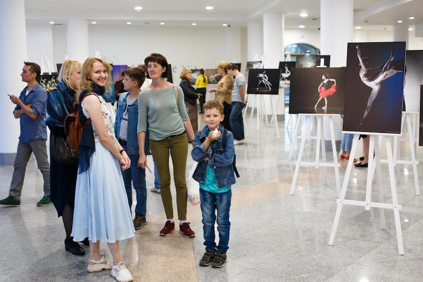 Выставка балетной фотографии Александра Панкова