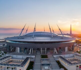 Газпром-арена, Санкт-Петербург