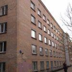 Старое здание общежития Московской консерватории