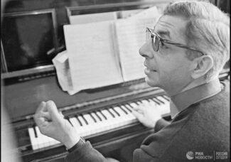 Рукописи Таривердиева передали в Российский национальный музей музыки