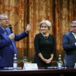 Владимир Урин, Ольга Голодец и Андрей Костин. Фото - Сергей Куксин/РГ