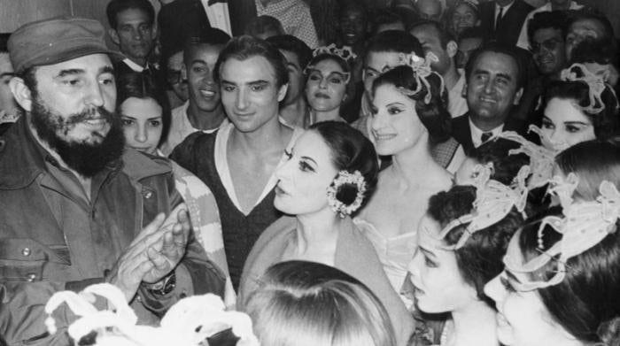Встреча с Фиделем Кастро. 1959 год