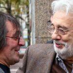 Юрий Башмет и Пласидо Доминго. Фото -ТАСС