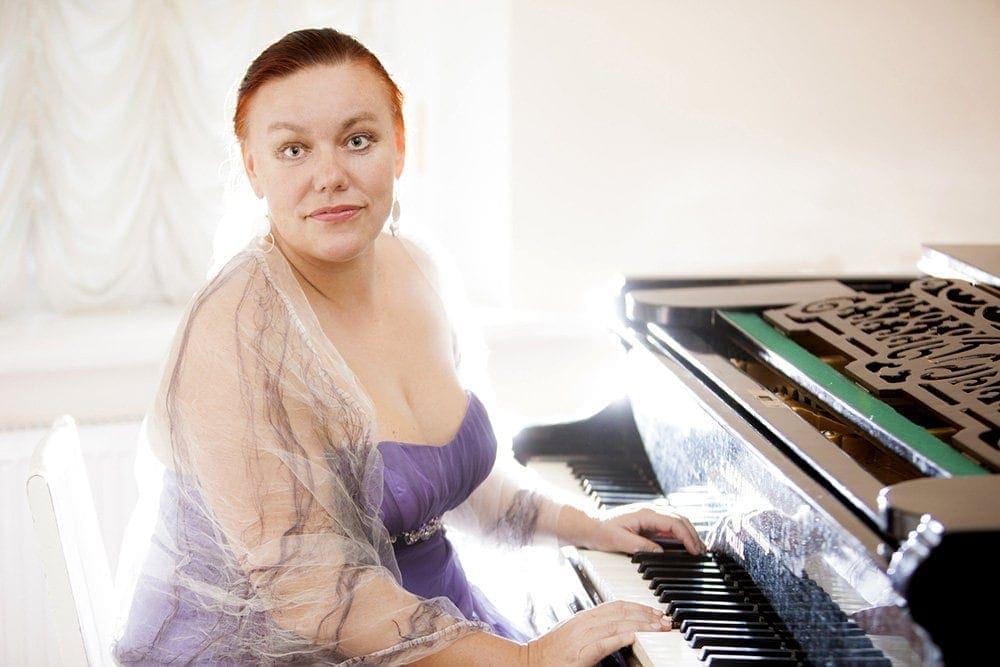 Елена Гаудасинская. Фото - сайт Санкт-Петербургской филармонии