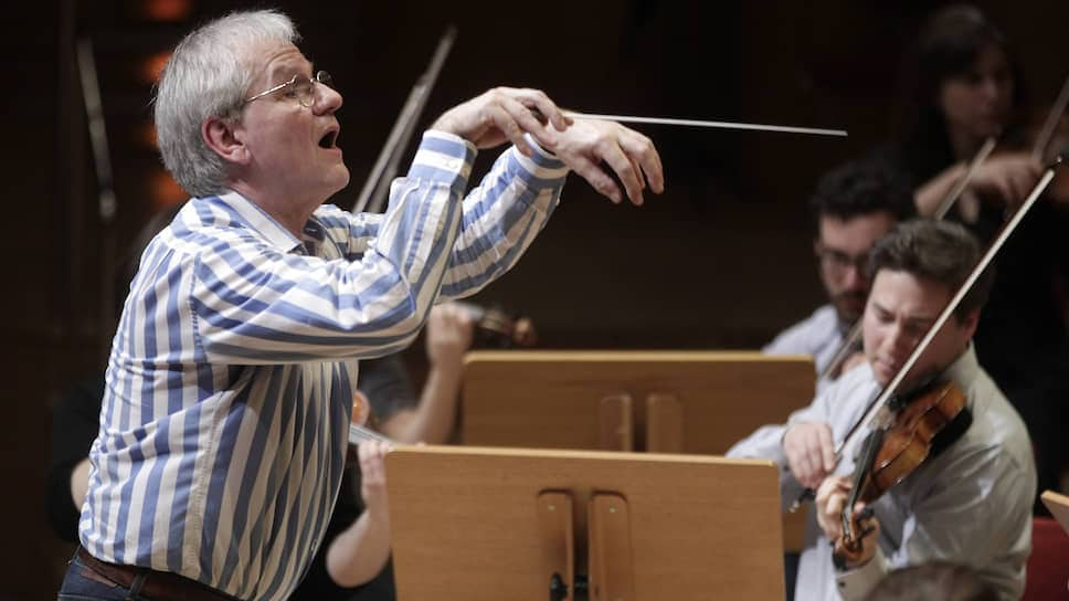 Дирижер Рейнгард Гёбель и оркестр Pratum Integrum Фото - Ullstein bild / Getty Images