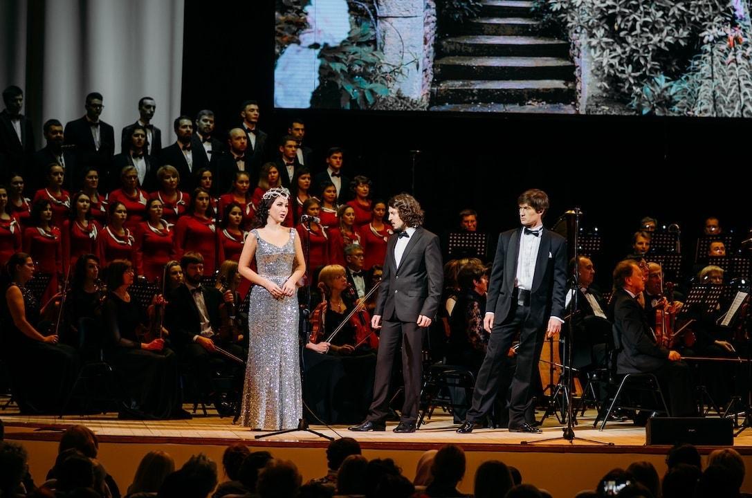Опера «Иоланта» прозвучала в концертном исполнении на сцене Большого зала Ленинского мемориала. Фото - С. Семагин