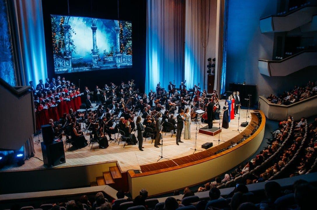 Опера «Иоланта» прозвучала в концертном исполнении на сцене Большого зала Ленинского мемориала
