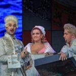 Сцена из оперы В. А. Моцарта «Каирский гусь, или Обманутый жених». Венгерская национальная опера