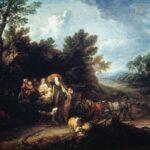 """Томас Гейнсборо. """"Рыночный воз"""" (1786)"""