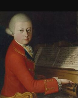 Редкий портрет 13-летнего Моцарта выставят на аукцион. © Christie's