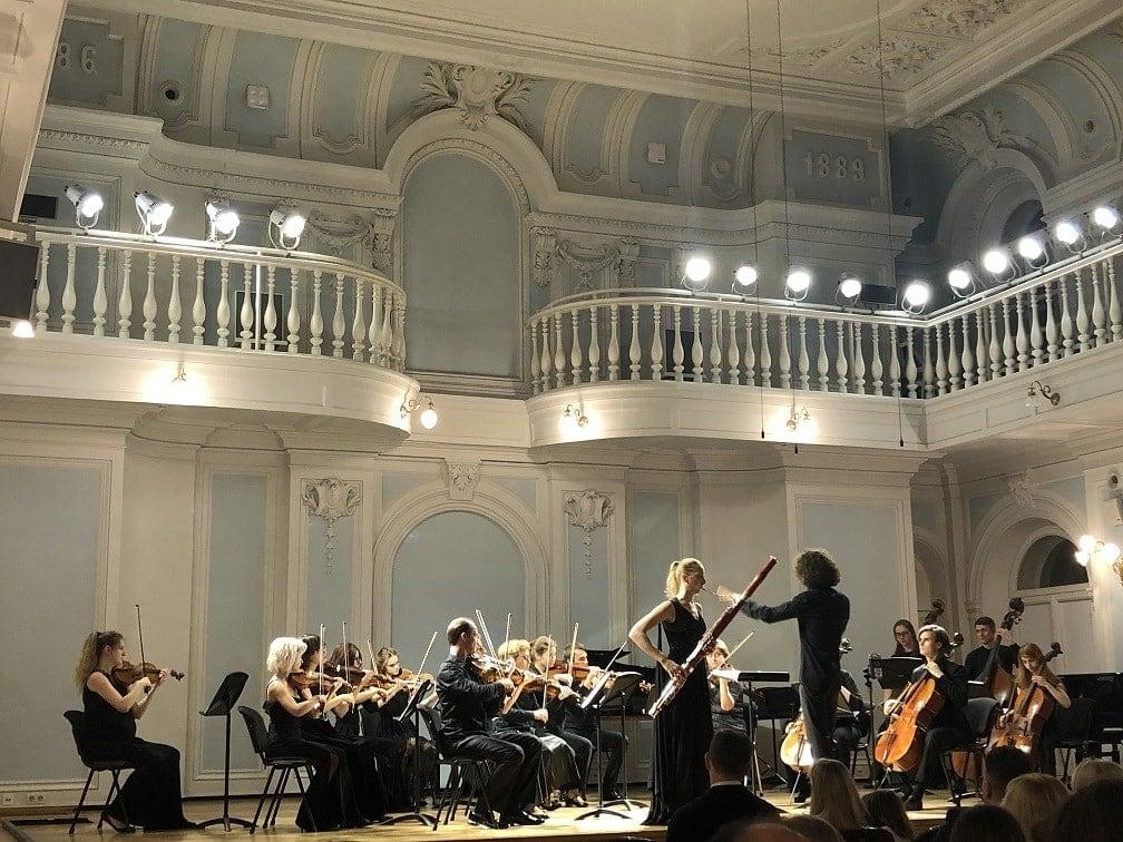 Авторский вечер гобоиста, дирижера и композитора Андрея Рубцова