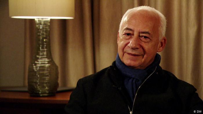 Владимир Спиваков во время интервью в студии DW