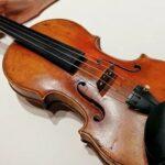 Музыкант забыл в электричке скрипку