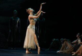 Анжелина Воронцова (Никия). Фото - сайт Михайловского театра