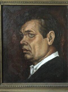 Этюд к портрету Александра Филипповича Ведерникова, написанный известным художником Геннадием Мосиным