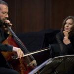 Татьяна Друбич помогла виолончели Бориса Андрианова обрести человеческий голос. Фото предоставлено организаторами фестиваля Vivacello