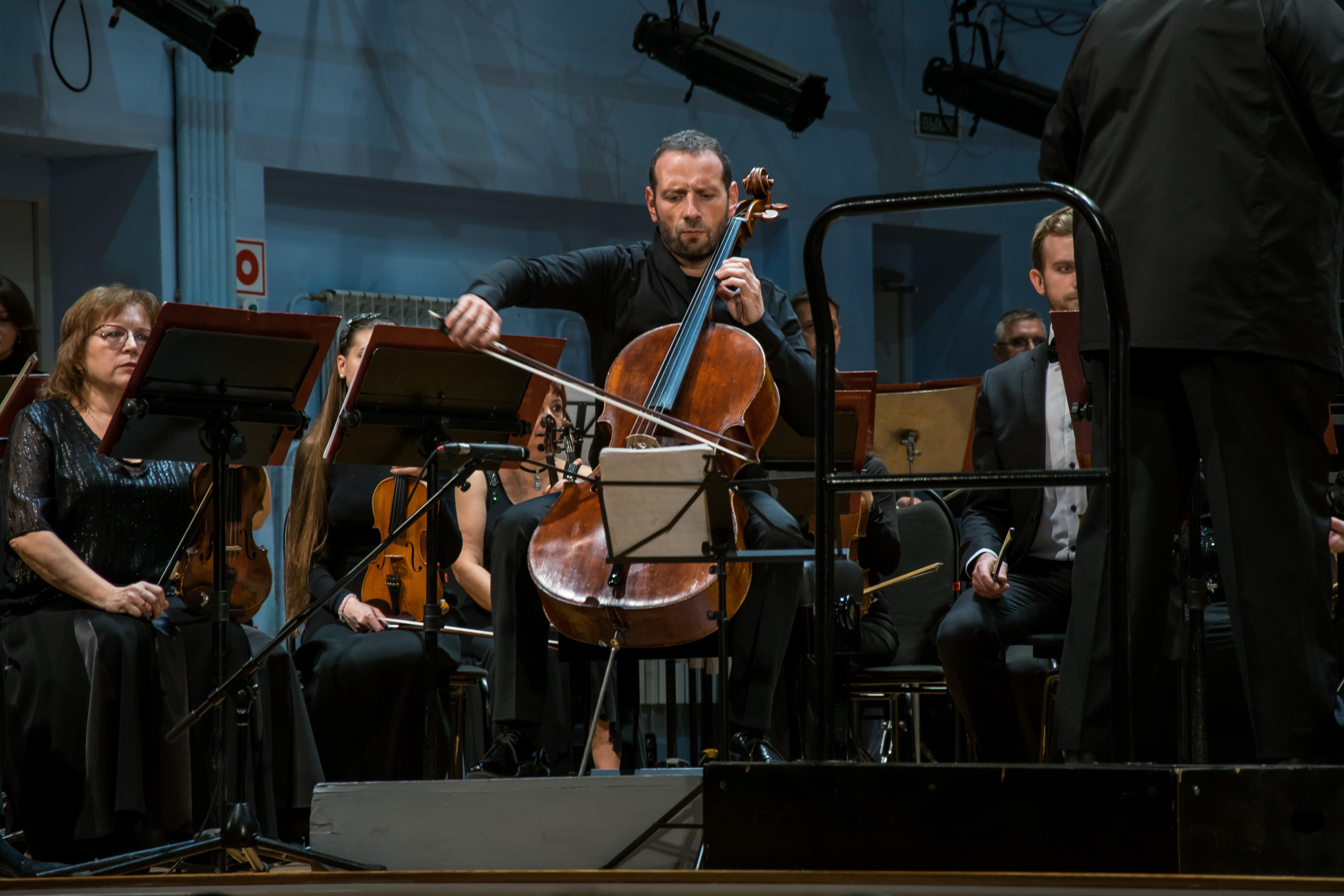 Борис Андрианов в Саратовской филармонии