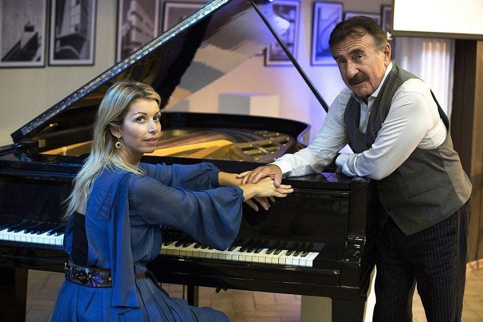 Басиния Шульман и Леонид Каневский