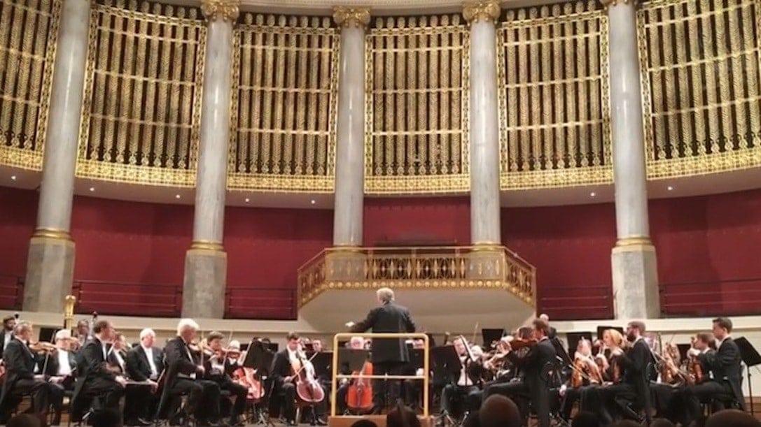Большой симфонический оркестр имени Чайковского выступил в Вене
