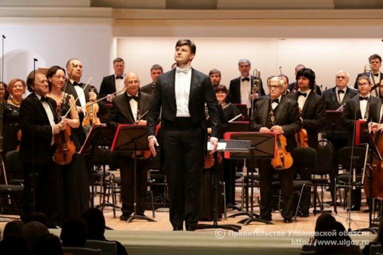 Ульяновский симфонический оркестр «Губернаторский» выступил в Москве