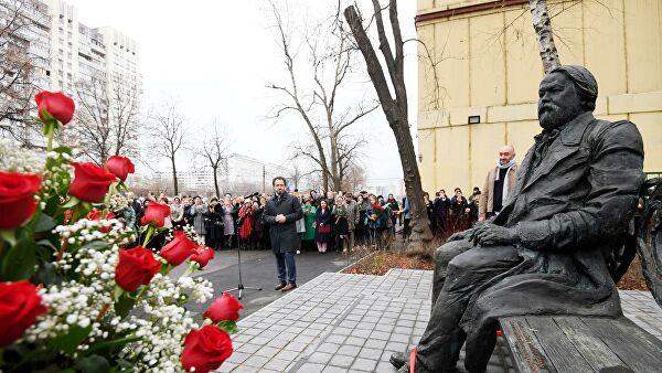 Памятник Михаилу Ипполитову-Иванову открыли в Москве