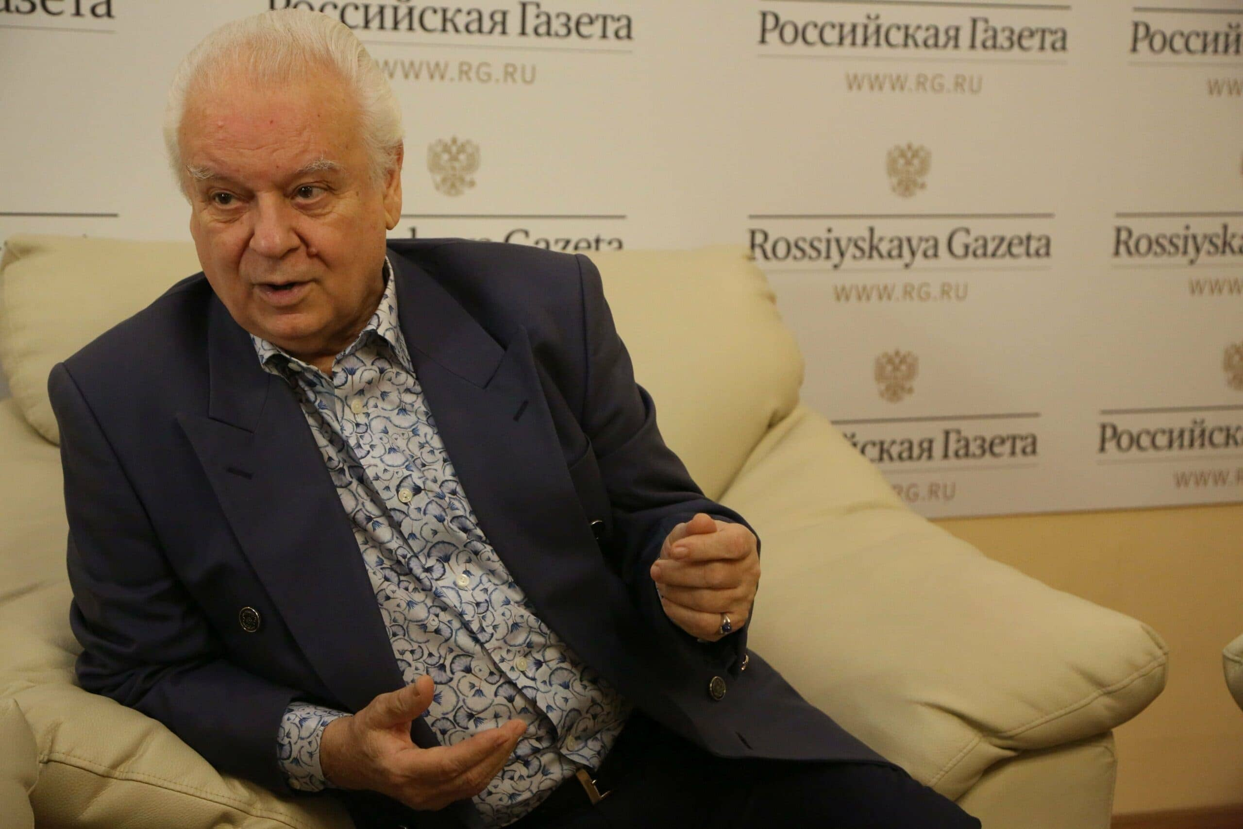 Юрий Симонов. Фото - Анжела Мнацаканян/ РГ